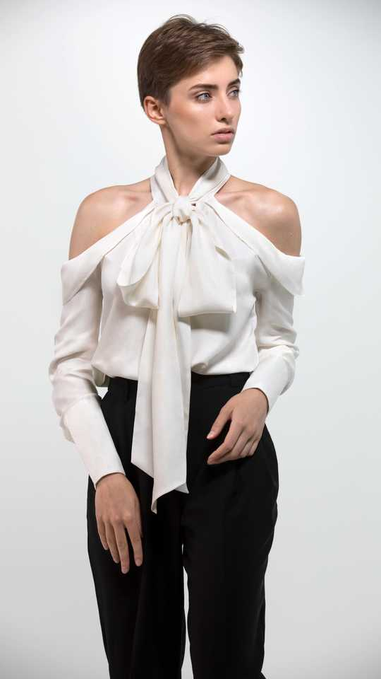 Silk blouse TERESA