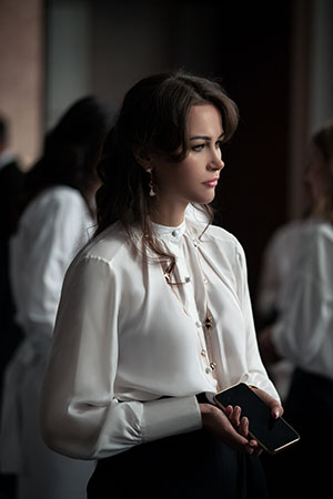 Модный показ LA NEIGE Collection и BVLGARI